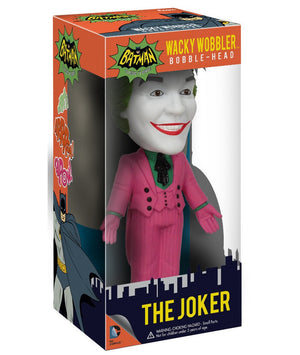 Batman 1966 TV Series Joker Bobble Head-Funko- www.superherotoystore.com-Bobble Heads - 2