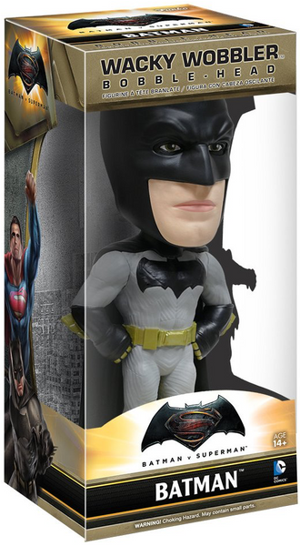 Batman Vs Superman Dawn of Justice Batman Wacky Wobbler by Funko-Funko- www.superherotoystore.com-Bobble Heads - 1