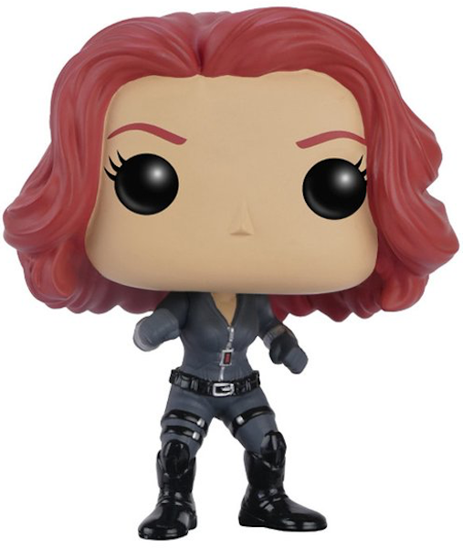 Captain America Civil War: Black Widow Pop! Vinyl Figure by Funko-Funko- www.superherotoystore.com-Bobble Heads - 1