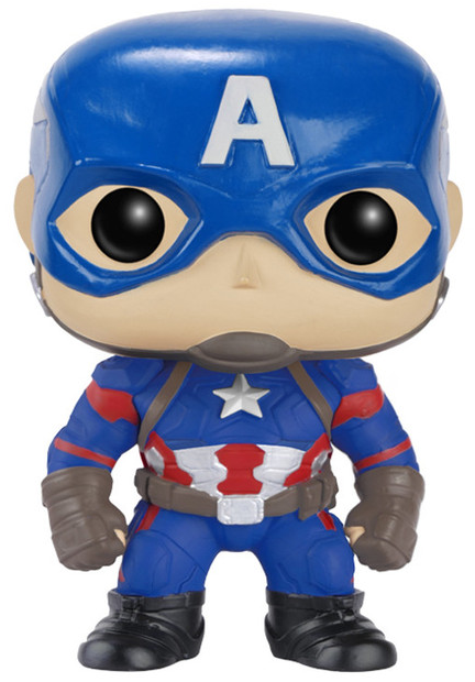 Captain America Civil War: Captain America Pop by Funko-Funko- www.superherotoystore.com-Bobble Heads - 1