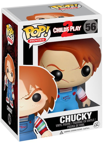 Child's Play Chucky Pop! Vinyl Figure by Funko-Funko- www.superherotoystore.com-Bobble Heads - 1