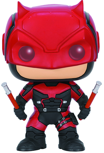 Daredevil Red Suit Pop! Vinyl Figure by Funko-Funko- www.superherotoystore.com-Bobble Heads - 1