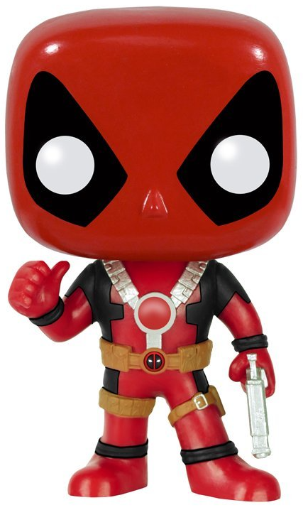 Marvel Classic Deadpool Head Knocker 2018 NECA