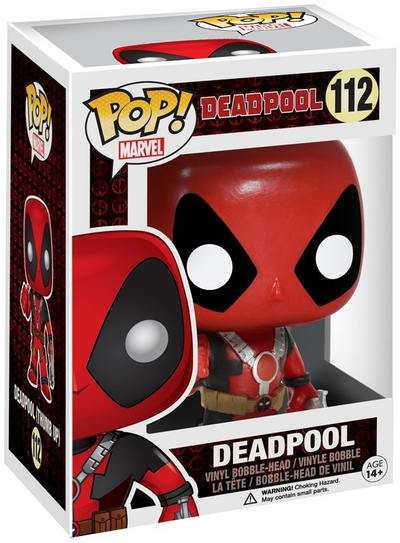 Deadpool Thumbs Up Pop-Funko- www.superherotoystore.com-Bobble Heads - 2