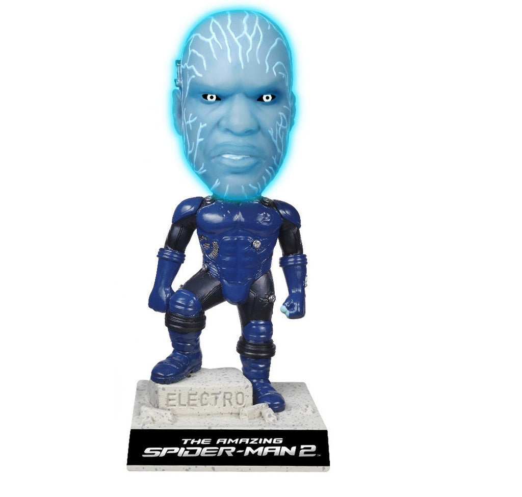 Amazing Spider-Man 2: Electro Wacky Wobbler by Funko -Funko - India - www.superherotoystore.com