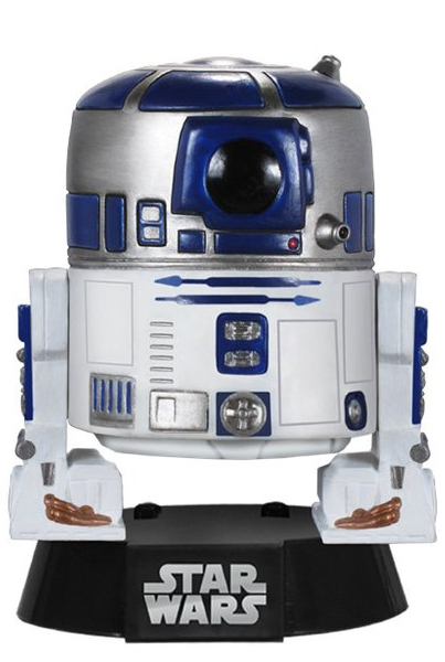 Star Wars R2-D2 Pop! Vinyl Figure by Funko-Funko- www.superherotoystore.com-Bobble Heads - 1