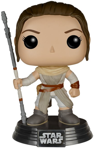 Star Wars Rey POP! Vinyl Figure by Funko-Funko- www.superherotoystore.com-Bobble Heads - 1