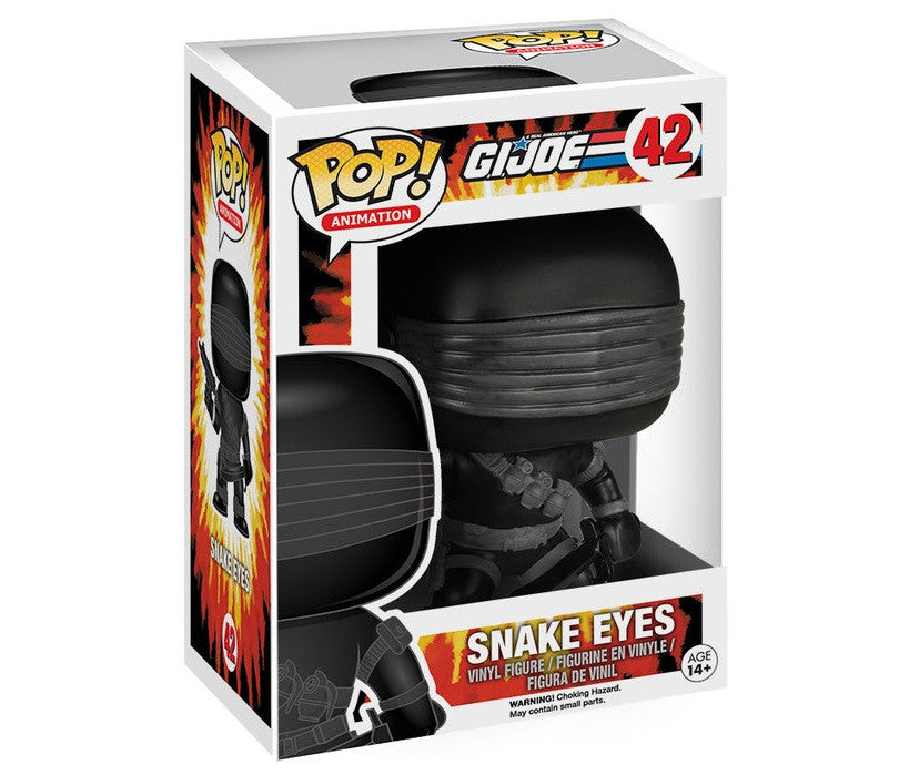 G.I. Joe Snake Eyes Pop-Funko- www.superherotoystore.com-Bobble Heads - 2