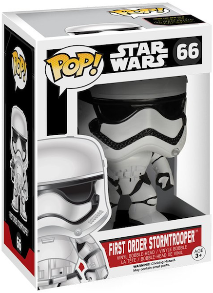 Star Wars Force Awakens Stormtrooper Pop! by Funko-Funko- www.superherotoystore.com-Bobble Heads - 1