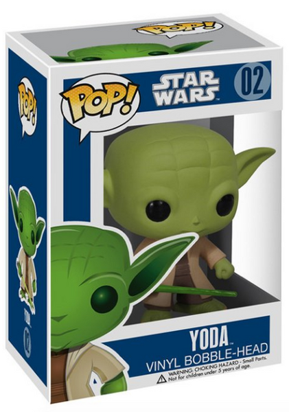 Star Wars Yoda Pop Vinyl Figure by Funko-Funko- www.superherotoystore.com-Bobble Heads - 1