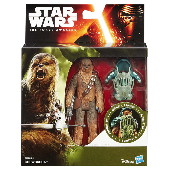 "Star Wars: Chewbacca 3.75"" FIGURE-Hasbro- www.superherotoystore.com-Action Figure - 1"