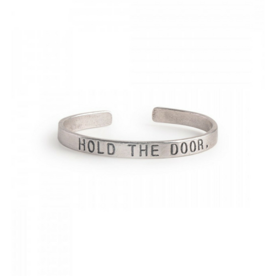 Game of Thrones Hold The Door Silver Kada