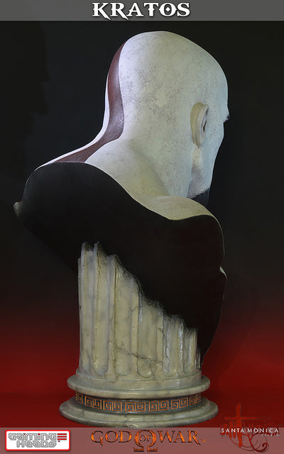 God of War - Kratos Bust-Gaming Heads- www.superherotoystore.com-Statue - 10