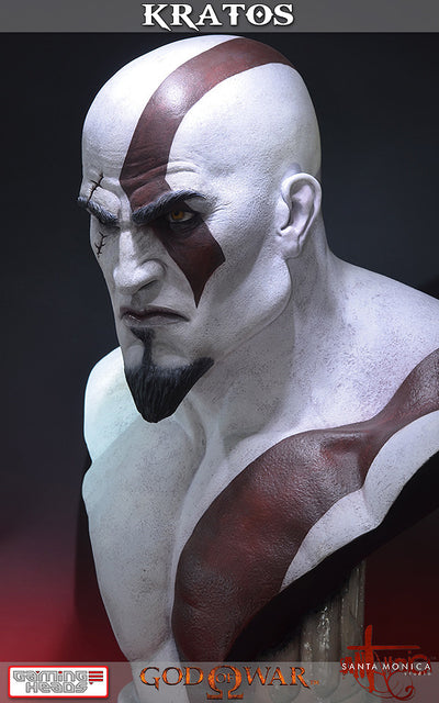 God of War - Kratos Bust-Gaming Heads- www.superherotoystore.com-Statue - 11