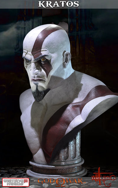God of War - Kratos Bust-Gaming Heads- www.superherotoystore.com-Statue - 14