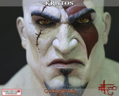 God of War - Kratos Bust-Gaming Heads- www.superherotoystore.com-Statue - 2