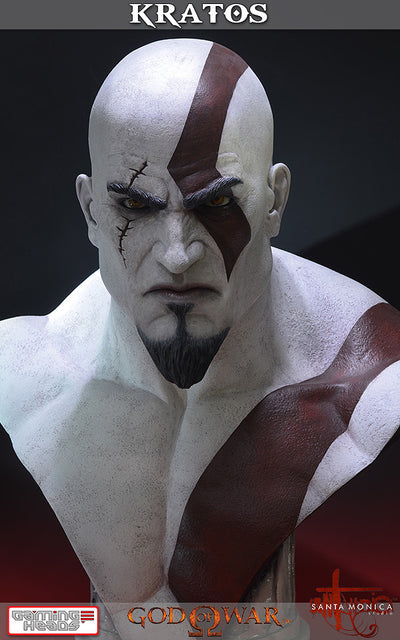 God of War - Kratos Bust-Gaming Heads- www.superherotoystore.com-Statue - 5