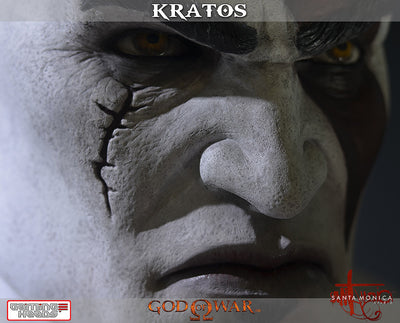 God of War - Kratos Bust-Gaming Heads- www.superherotoystore.com-Statue - 3