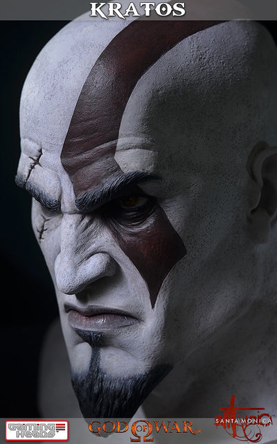 God of War - Kratos Bust-Gaming Heads- www.superherotoystore.com-Statue - 7