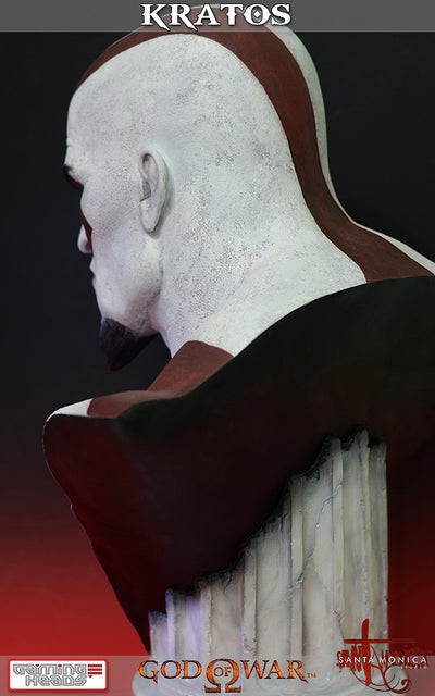God of War - Kratos Bust-Gaming Heads- www.superherotoystore.com-Statue - 8