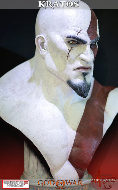 God of War - Kratos Bust-Gaming Heads- www.superherotoystore.com-Statue - 13
