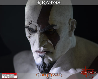 God of War - Kratos Bust-Gaming Heads- www.superherotoystore.com-Statue - 6