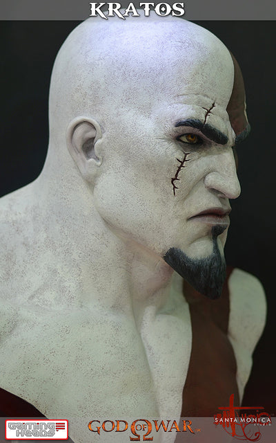 God of War - Kratos Bust-Gaming Heads- www.superherotoystore.com-Statue - 12