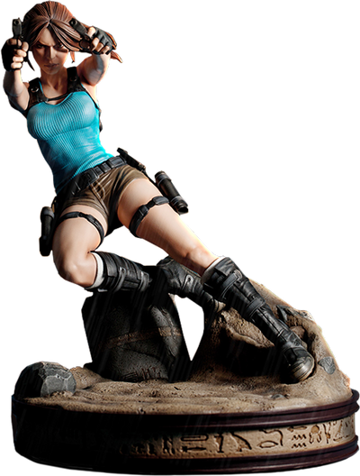 Lara Croft Temple of Osiris-Gaming Heads- www.superherotoystore.com-Statue - 1