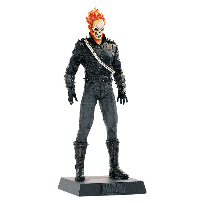 Classic Marvel Fig Coll Mag #22 Ghost Rider-Eaglemoss Publications- www.superherotoystore.com-Action Figure - 1
