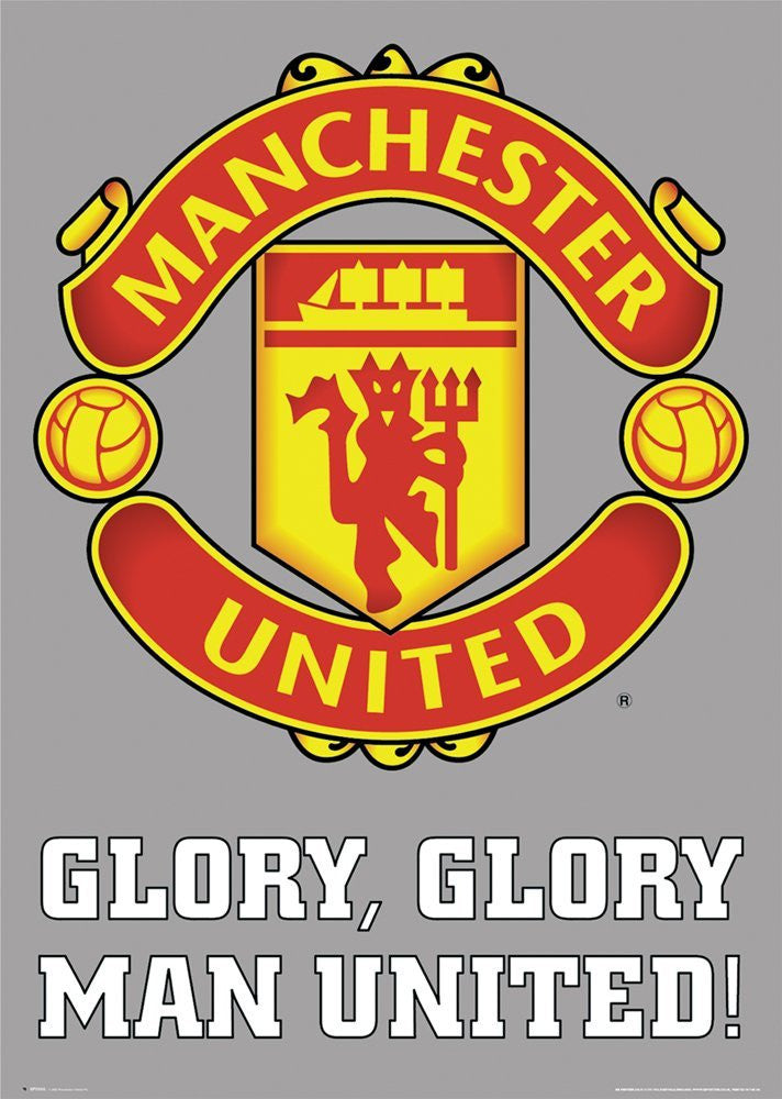 Glory Glory Man United -Superherotoystore.com - India - www.superherotoystore.com