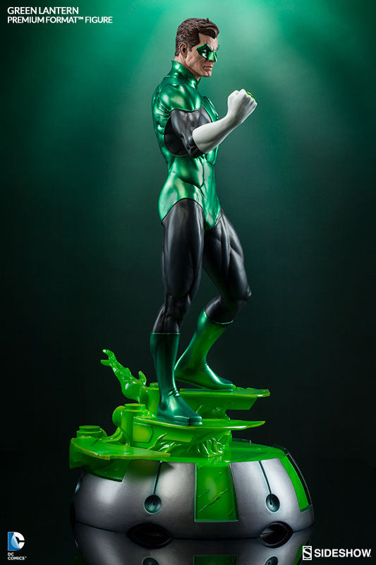 Green Lantern 1/4th Scale Premium Format Figure by Sideshow Collectibles-Sideshow Collectibles- www.superherotoystore.com-Statue - 5