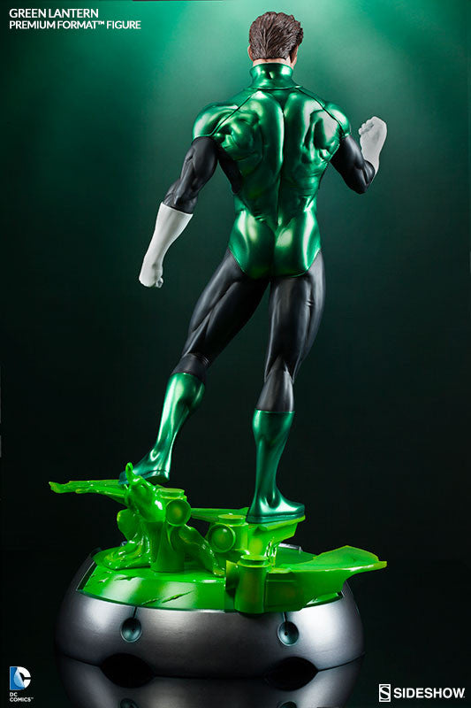 Green Lantern 1/4th Scale Premium Format Figure by Sideshow Collectibles-Sideshow Collectibles- www.superherotoystore.com-Statue - 4