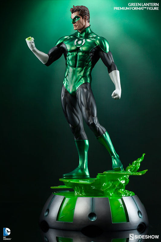 Green Lantern 1/4th Scale Premium Format Figure by Sideshow Collectibles-Sideshow Collectibles- www.superherotoystore.com-Statue - 3