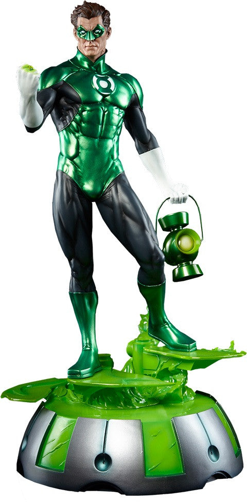 Green Lantern 1/4th Scale Premium Format Figure by Sideshow Collectibles-Sideshow Collectibles- www.superherotoystore.com-Statue - 1