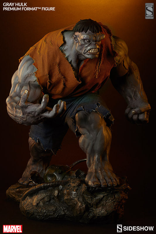 Gray Hulk 1/4th Scale Premium Format Figure by Sideshow Collectibles-Sideshow Collectibles- www.superherotoystore.com-Statue - 4
