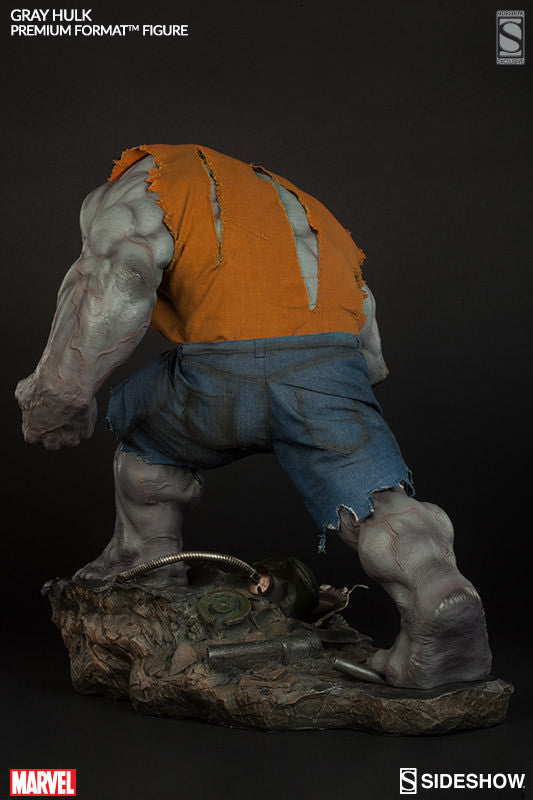 Gray Hulk 1/4th Scale Premium Format Figure by Sideshow Collectibles-Sideshow Collectibles- www.superherotoystore.com-Statue - 5