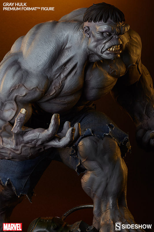 Gray Hulk 1/4th Scale Premium Format Figure by Sideshow Collectibles-Sideshow Collectibles- www.superherotoystore.com-Statue - 10