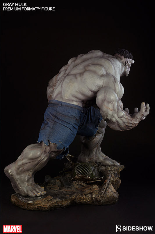 Gray Hulk 1/4th Scale Premium Format Figure by Sideshow Collectibles-Sideshow Collectibles- www.superherotoystore.com-Statue - 7