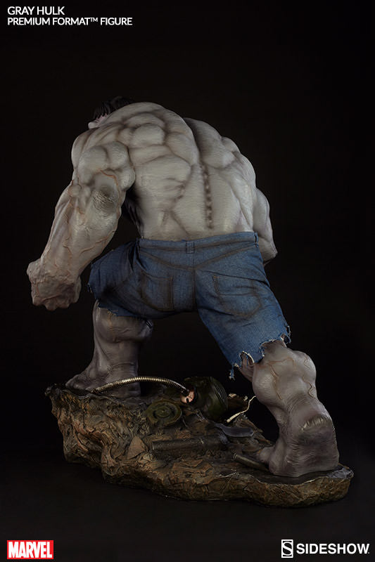 Gray Hulk 1/4th Scale Premium Format Figure by Sideshow Collectibles-Sideshow Collectibles- www.superherotoystore.com-Statue - 9