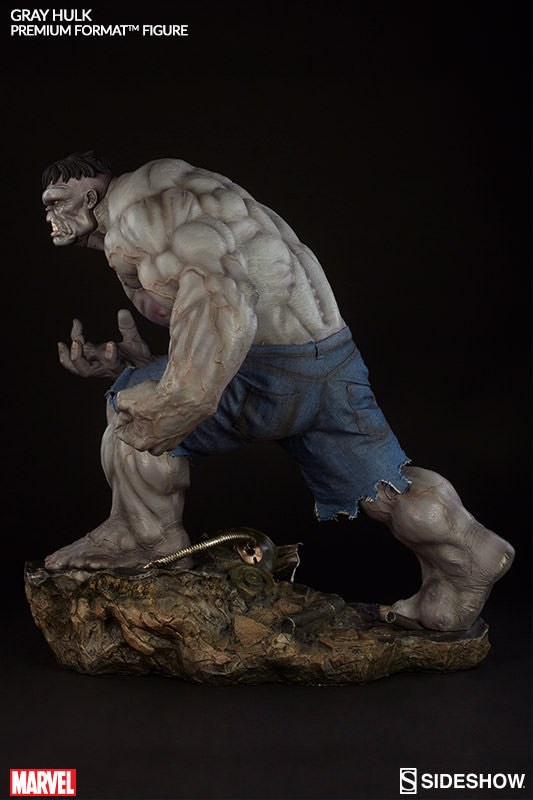 Gray Hulk 1/4th Scale Premium Format Figure by Sideshow Collectibles-Sideshow Collectibles- www.superherotoystore.com-Statue - 8