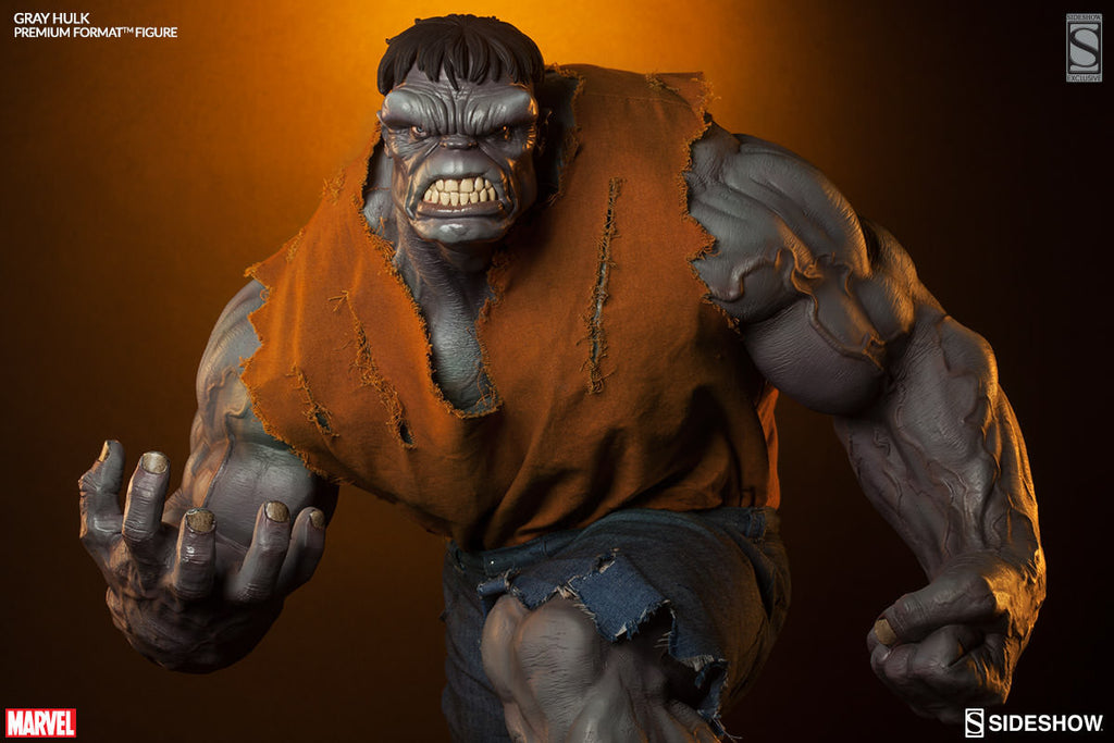 Gray Hulk 1/4th Scale Premium Format Figure by Sideshow Collectibles-Sideshow Collectibles- www.superherotoystore.com-Statue - 2