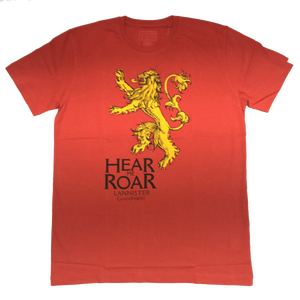 Game of Thrones Hear Me Roar T-Shirt by Bio World-Bio World- www.superherotoystore.com-T-Shirt