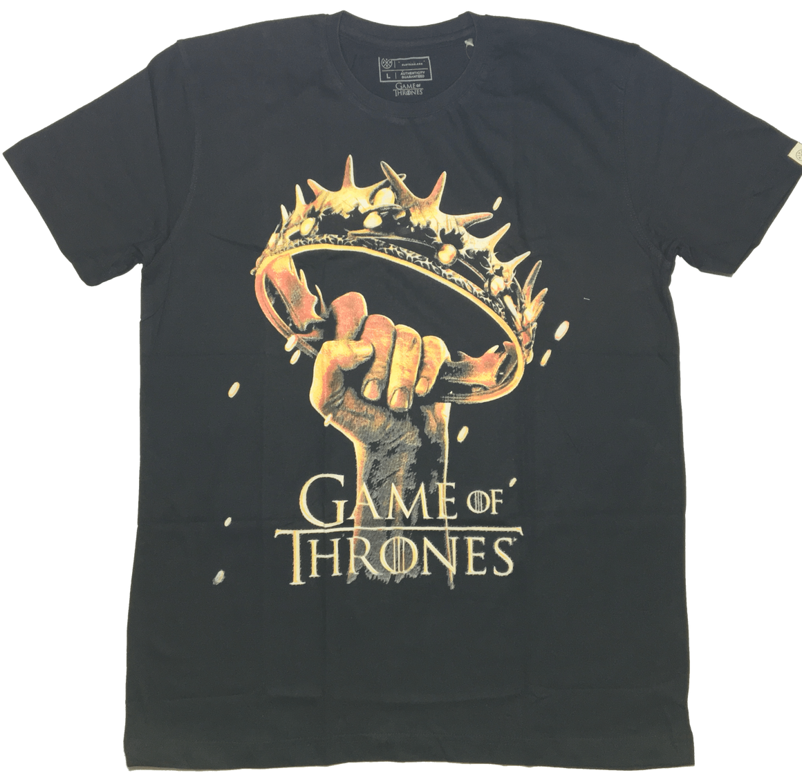 Game of Thrones Black T-Shirt by Vox Pop-Vox Pop Clothing- www.superherotoystore.com-T-Shirt