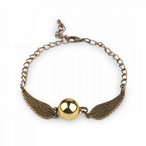 Harry Potter Snitch Golden Bracelet
