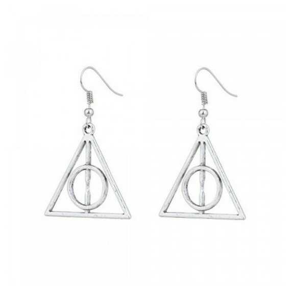 Harry Potter Deathly Hallows Earrings -EFG - India - www.superherotoystore.com