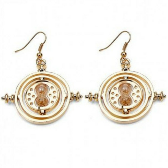 Harry Potter Golden Time Turner Earrings