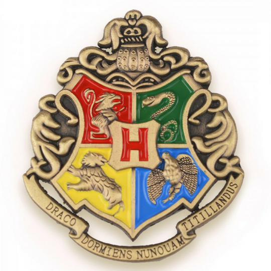Harry Potter Hogwarts Crest Pin