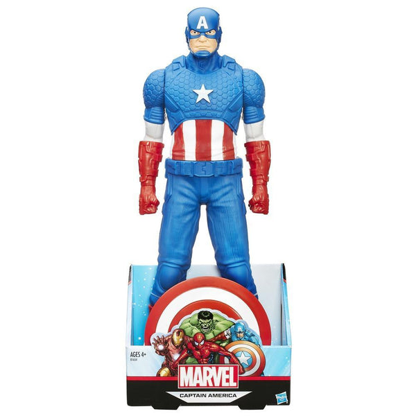"Titan Hero Series Captain America 20"" Figure-Hasbro- www.superherotoystore.com-Action Figure - 1"
