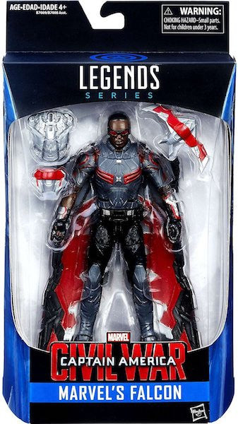 Marvel Legends Captain America Civil War: Falcon Figure by Hasbro -Hasbro - India - www.superherotoystore.com