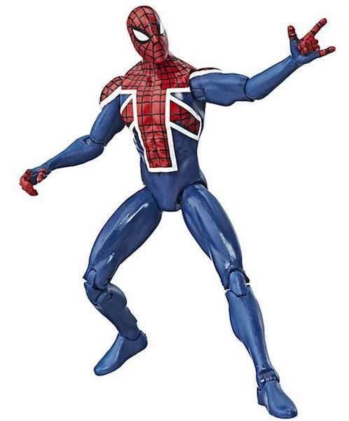 Marvel Legends Spider - UK Figure by Hasbro